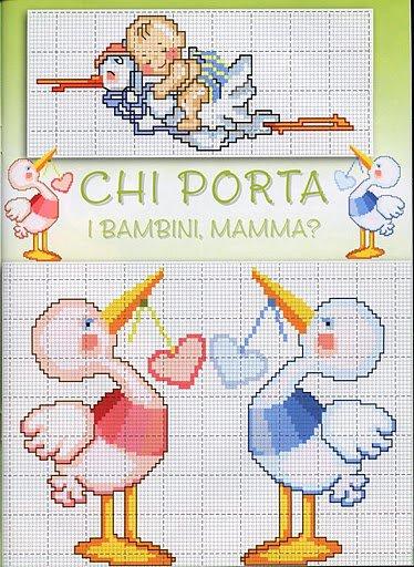 Punto croce nascita bertafilava for Punto croce bambini nascita