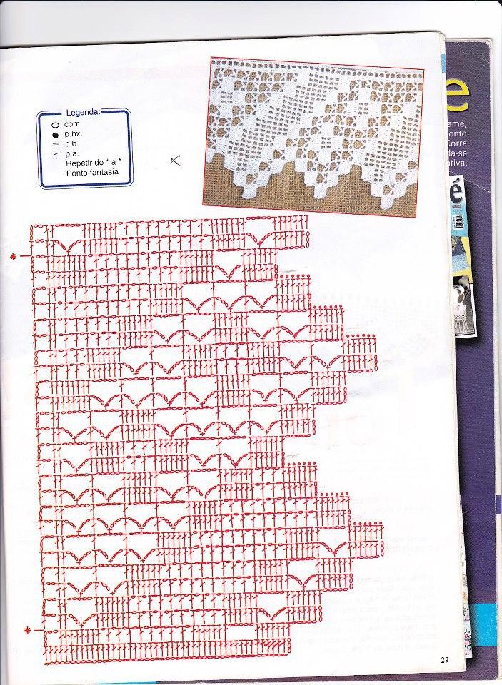 Bordura quadretti bertafilava for Bordure uncinetto schemi