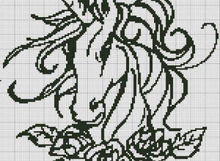 unicorno monocolore
