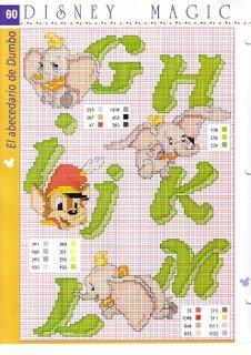 Cross stitch Dumbo (1) - free cross stitch patterns crochet knitting  amigurumi | 320x226