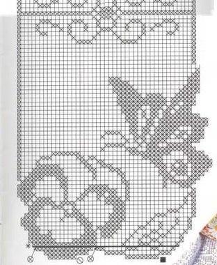 schemi filet da stampare. trendy centri uncinetto filet schemi da