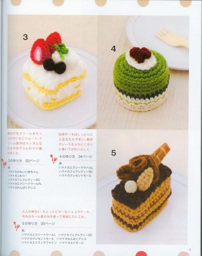 Amigurumi Uncinetto Gratis :  riv.giapponese dolci amigurumi