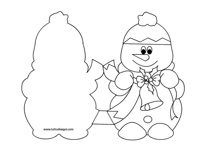Biglietti Auguri Di Natale In Inglese Da Colorare Disegni Di