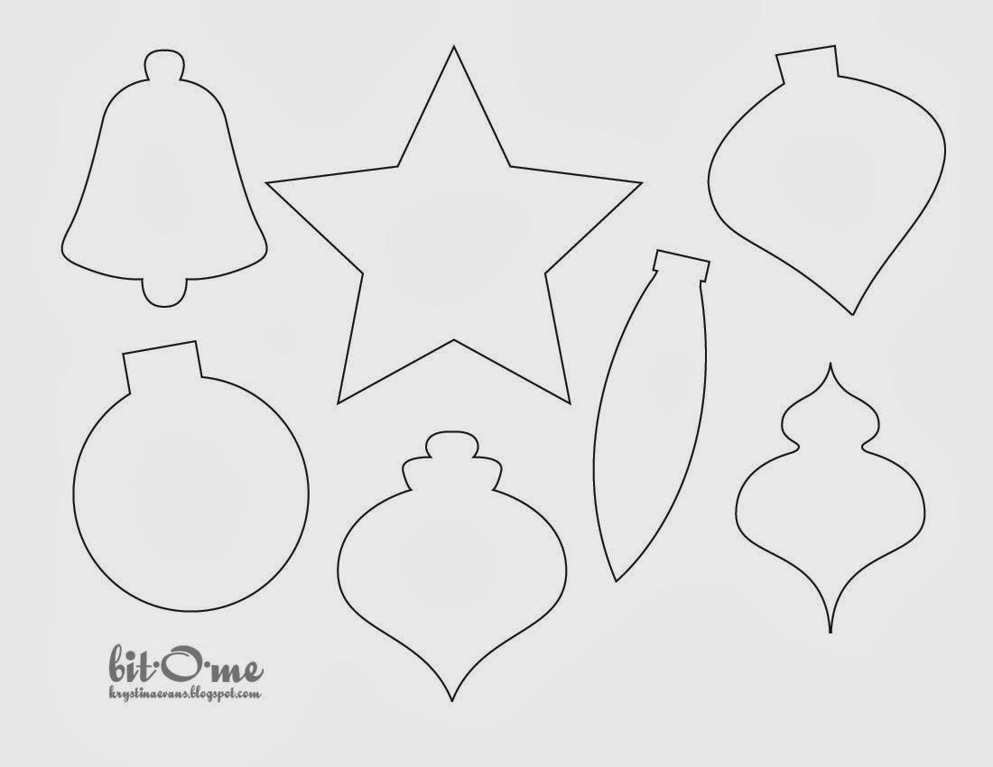 5 schemi feltro natalizio